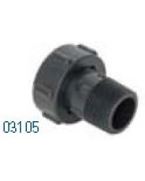 "HR03105 HRM 100 1"" MIPT SWIVEL ADAPTER"
