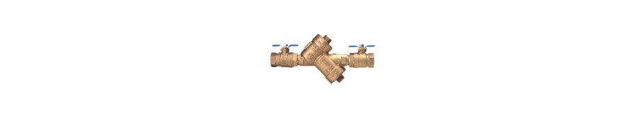 DOUBLE CHECK BACKFLOW PREVENTERS