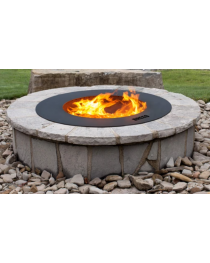 "ZENTRO 24"" FIRE PIT WITH LID"