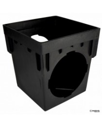 "NDS-1203  12"" CATCH BASIN 3-OUTLET"