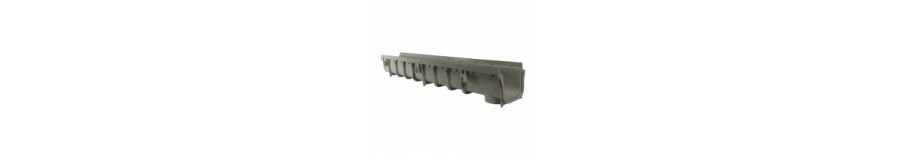 "NDS 5"" PRO SERIES CHANNEL DRAINS"