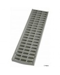 "NDS-714 3"" x 20"" Light Traffic Channel Grate - Light Grey"