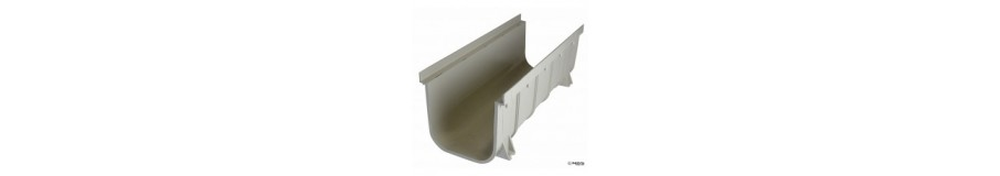 "NDS 8"" PRO SERIES CHANNEL DRAINS"