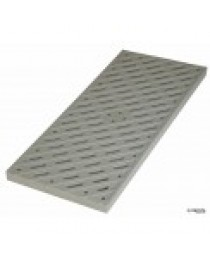 "8"" x 20"" PEDESTRIAN TRAFFIC CHANNEL GRATE"