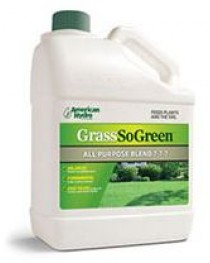 GRASS SO GREEN LIQUID FERTILIZER 1 GALLON