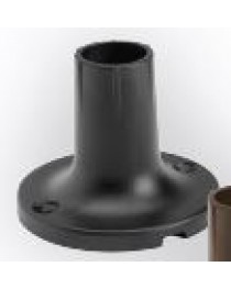 HAVEN POST MOUNT FLANGE - BLACK