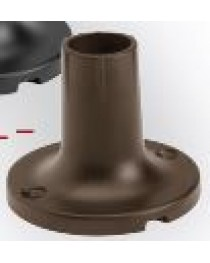 HAVEN POST MOUNT FLANGE - BRONZE
