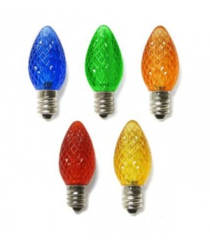 C7 SMD LED MULTI COLOR BULBS