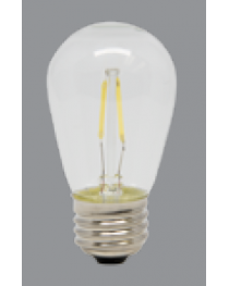 LED PURE WHITE S14 BULB - 120V