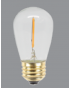 LED WARM WHITE S14 BULB - 12V