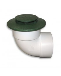 "NDS-421 4"" POP-UP DRAIN GREEN W/ ELBOW"